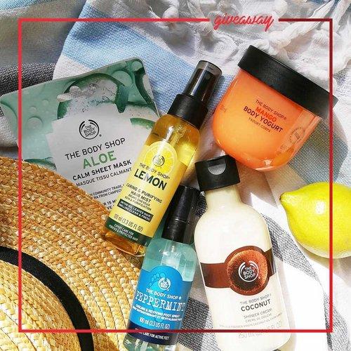 😍 SUPER GIVEAWAY 😍 Osvoji košarico super dišečih izdelkov iz @thebodyshopslovenija! 🌵🥭🥥🌿🍋  V giveaway-u sodeluješ tako,...
